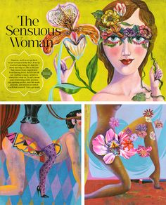 "OPRAH magazine October 2015// ""The Sensuous Woman"" 