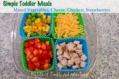 My Life of Travels and Adventures: Toddler Lunches