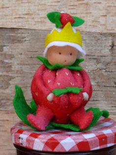Strawberry king by Tintangel on Etsy
