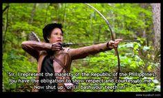 Hunger Games - Senator Miriam Defensor Santiago