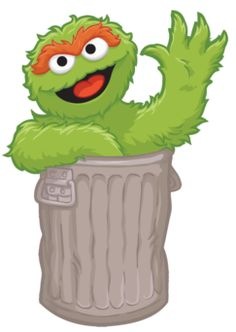 krafty nook sesame street oscar the grouch fan art svg krafty rh pinterest com  oscar the grouch face clipart