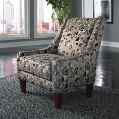 Granbury Accent Chair by CORT #print #pattern