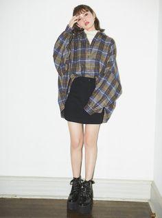 Pin by Aruzhan Yupova on Шмот in 2019 Kawaii Fashion, Cute Fashion, Trendy Fashion, Fashion Beauty, Fashion Outfits, Womens Fashion, Fashion Fashion, Ulzzang Fashion, Korean Fashion