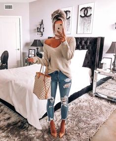 the summer outfit trends you need to try now 28 Mode Outfits, Jean Outfits, Trendy Outfits, Womens Jeans Outfits, Womens Fashion Outfits, Dress Outfits, Cute Outfits With Jeans, Trendy Dresses, Fashion Dresses