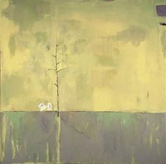 "Solace. Mixed media on canvas. 36"" x 36"" by jan zoya"