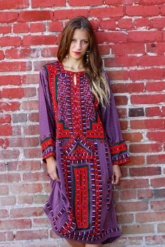 Tavin Boutique - My Light Purple Afghani Dress