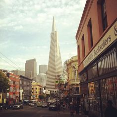 City Lights Bookstore: One of my favorite bookstores, near North Beach (Little Italy)