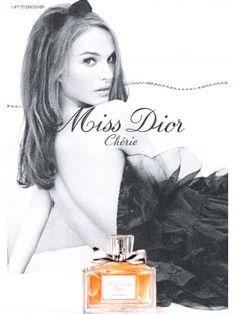 Natalie Portman for Miss Dior Cherie, Dior fragrances