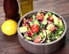 Eat Stop Eat To Loss Weight - Healthy Cucumber, Tomato, and Avocado Salad - In Just One Day This Simple Strategy Frees You From Complicated Diet Rules - And Eliminates Rebound Weight Gain Vegetarian Recipes, Cooking Recipes, Healthy Recipes, Healthy Salads, Healthy Eating, Food Videos, Tasty Videos, Clean Eating, Food And Drink