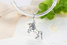 Unicorn Silver Charm - 925 Sterling silver //Price: $28.14 & FREE Shipping //   Get it here -> https://alicegibbon.com  #alicegibbon #charmsbracelet