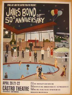 "2012 ""James Bond"" - II Movie Poster by Max Dalton"
