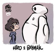 Big Hero 6 - Hiro and Baymax by princekido.deviantart.com on @deviantART