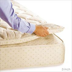King Size Pillows, King Size Mattress, Pillow Top Mattress, Best Mattress, Mattress Pad, Decor Pad, Wool Quilts, Natural Latex, Home Kitchens