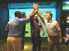 5- Week Indoor Golf League Register before July 14! Two-player teams. 9-hole round each week, scramble format, and a new course each week. Flexible tee times to fit your schedule. First time league players get a free Golfer's Grail T-shirt and the first 10 teams to register on line get a $10 Golfer's Grail gift card!  Prizes for 1st, 2nd, and 3rd place teams (net). Also optional weekly cash skin game. Only $95 per player.  Bring a friend, co-worker or a golfing buddy and play!