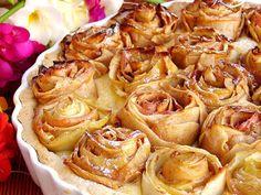 Tarte de maçãs de rosas, Receita de Sandra-alves - Petitchef