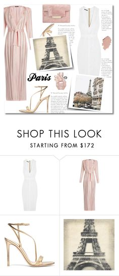 """""""Paris Travel"""" by rocio-martinez-1 ❤ liked on Polyvore featuring Balmain, Gianvito Rossi, Leftbank Art, PFW, paris, france and outfitsfortravel"""