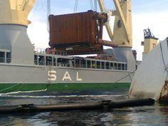 Frachtschiff Svenja