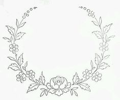 Wonderful Ribbon Embroidery Flowers by Hand Ideas. Enchanting Ribbon Embroidery Flowers by Hand Ideas. Embroidery Flowers Pattern, Embroidery Monogram, Simple Embroidery, Embroidery Transfers, Embroidery Patterns Free, Silk Ribbon Embroidery, Hand Embroidery Designs, Vintage Embroidery, Floral Embroidery