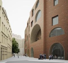David Chipperfield Architects · LSE – The New St. Philips Centre