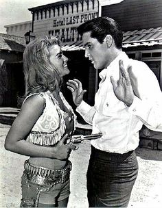 Ann-Margret and Elvis Presley, Viva Las Vegas, 1964