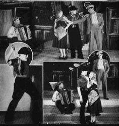 Apache Dancers at Folies Bergere  Paris, 1930s