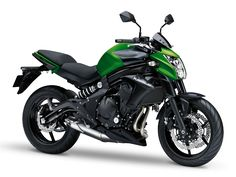 Kawasaki Er6n Candy Flat Blazed Green