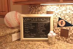 Baseball Birthday Party Ideas | Photo 11 of 27 | Catch My Party