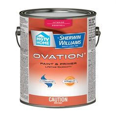 Hgtv Home By Sherwin Williams Interior Paint Ovq02 Ovation Latex And Primer