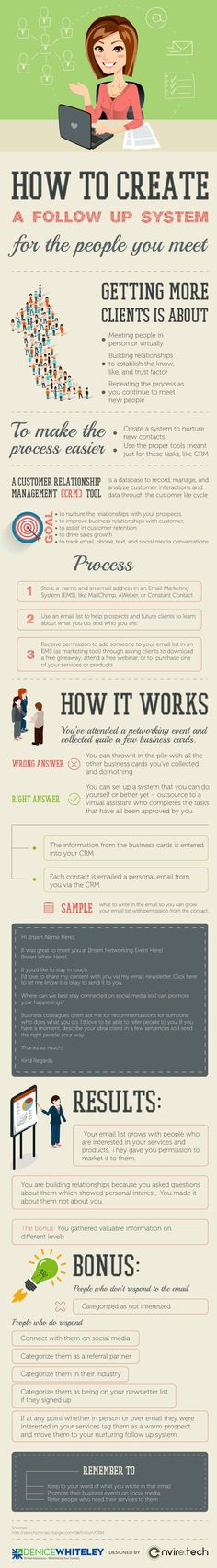 Tips on turning the people you meet into business clients www.visualistan.com/ #soapinfographic