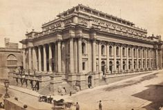 Royal Opera House Valletta Malta, a year or so before the fire of 1873, photo by Francis Frith