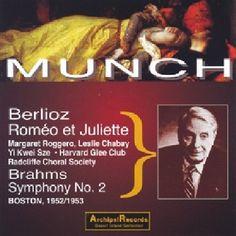 Berlioz / Munch - Romeo & Julia: Roggero-Chabay