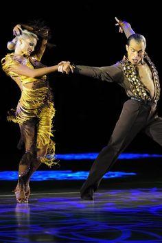 Yulia and Riccardo...swoosh