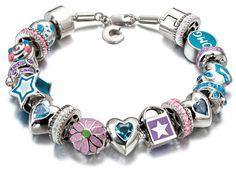 #Miss_Chamilia Beads & Bracelet  Perfect for the little princess in your life!