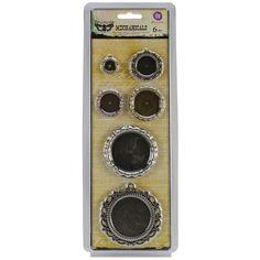Prima Marketing Mechanicals Embellishments - Pendants /Pkg