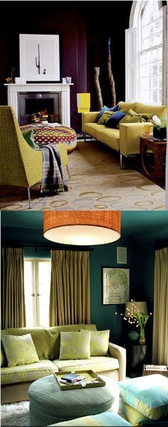 bold walls AND ceiling