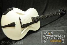 "Gibson CustomL-5 Non Cutaway Carved """"Shark"""" #2 by Bruce J.Kunkel"