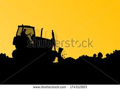 Bulldozer Stock Photos, Images, & Pictures   Shutterstock