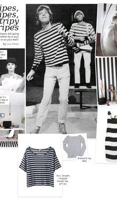 Stripes, Stripes, Stripy Stripes www.amazine.com