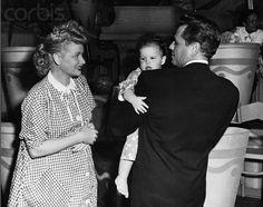 Lucille Ball, Desi Arnaz and Lucie Arnaz Lucie Arnaz, Desi Love, I Love Lucy Show, Vivian Vance, Queens Of Comedy, Lucille Ball Desi Arnaz, Lucy And Ricky, Old Hollywood Stars, Vintage Hollywood