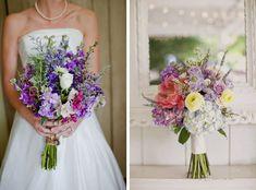 Purple Wildflower Bouquets