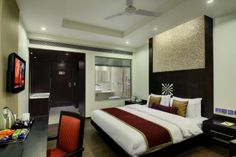 Hotel Godwin Deluxe is also unit of Hotel Grand Godwin,These two hotels are famous for deluxe rooms in paharganj,service and Roof Top Restaurant.whole of the year Guest around world comes to New Delhi and Most preferable choice of their budget stay is these both Hotels