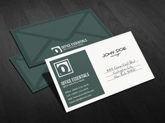 Free Business Card Template by GreyFoxGR => More at designresources ...