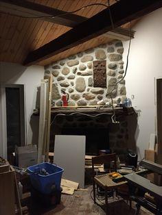 Under construction fireplace...