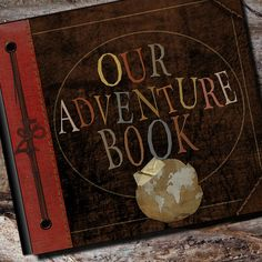 """Our Adventure Book by AlbumOptions: The exact same album that we created for the """"real production crew"""" for the movie Up!  #Album #Adventure_Book #Up"""
