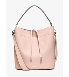 Miranda medium leather shoulder bag by Michael Kors Collection. This season we've reinvented our Miranda in a spacious new silhouette designed to accommodate dai...