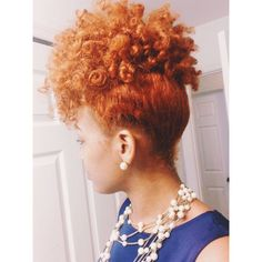 Week old perm rod set, pinned it up and I' Pelo Natural, Natural Hair Tips, Natural Hair Journey, Natural Curls, Natural Hair Styles, Colored Natural Hair, Going Natural, My Hairstyle, Cool Hairstyles