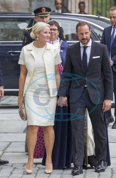 Crown Prince Haakon and Crown Princess Mette-Marit attended the opening of the meeting of the Assembly of the World Council of Churches' Central Committee in Trondheim 23 JUNE 2016