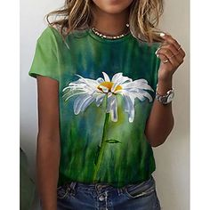 Painted Jeans, Painted Clothes, Cute Shirt Designs, Tie Dye Crafts, Blouse And Skirt, Basic Tops, Cute Shirts, Diy Fashion, Creations