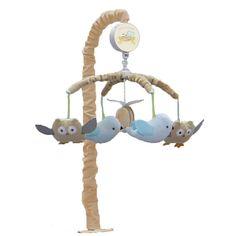 Nurture Nest Musical Mobile, Beig/Green (Beig/Khaki)