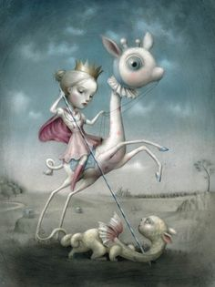 ☆ The Princess and the Prey  :¦: Artist Nicoletta Ceccoli ☆